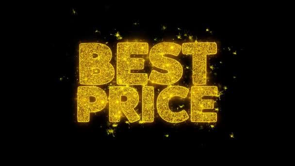 Nejlepší cenu typografie napsal s zlatými částicemi jisker ohňostroje