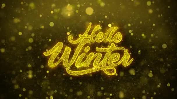 Pozdrav zimní přání blahopřání, pozvánka, oslava palby