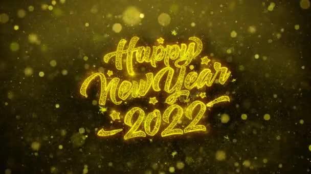 Új év 2022 kívánja Üdvözlet kártya, meghívó, ünneplés tűzijáték
