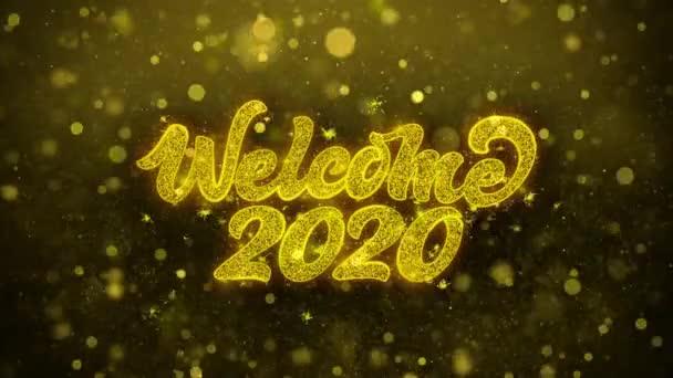Üdvözöljük 2020 kívánja Üdvözlet kártya, meghívó, ünneplés tűzijáték