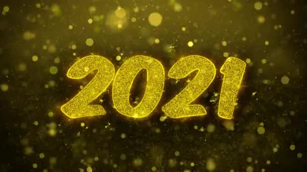 2021 Happy new year Wishes Greetings card, Invitation, Celebration Firework