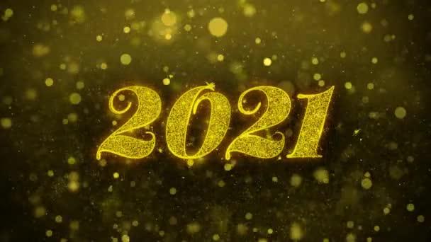 Boldog új évet 2021 kívánság Üdvözlet kártya, meghívó, ünneplés tűzijáték