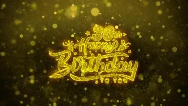 30 šťastné narozeniny přání blahopřání, pozvánka, oslava palby