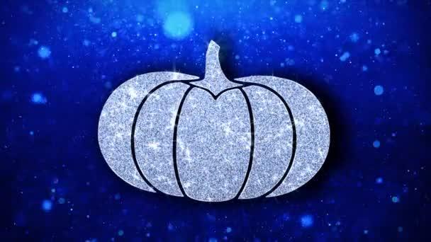Boldog Hálaadás Element villogó elem ikon részecskék köszöntések, meghívó, ünnepi háttér
