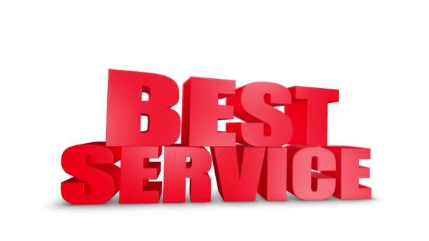 A legjobb szolgáltatás 3D szöveg gyere le 3D animáció Render.