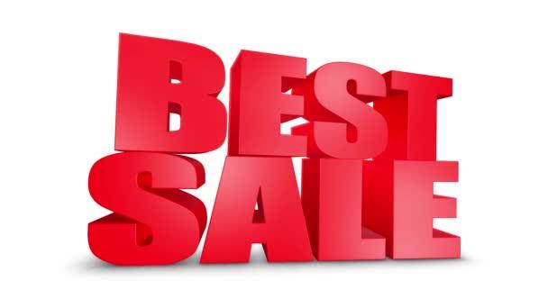 Best Sale 3d Text Come Down 3d Animation Render.