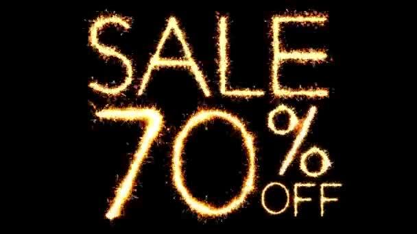 Verkauf 70 off Text Wunderkerze glitter funkt Feuerwerk Schleife Animation