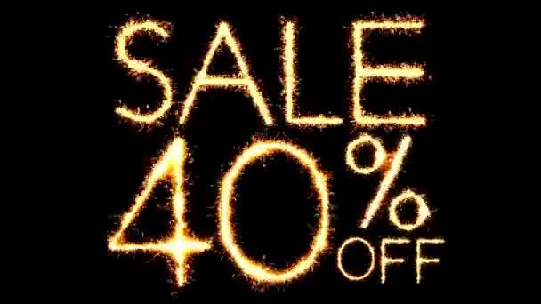 Verkauf 40 off text Wunderkerze glitter funkt Feuerwerk Schleife Animation