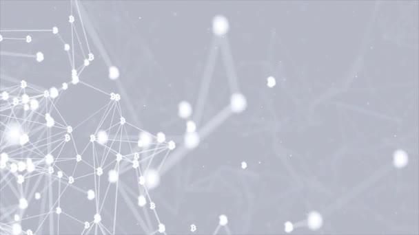 Abstrakte Technologie und Engineering Digitale Kommunikation.