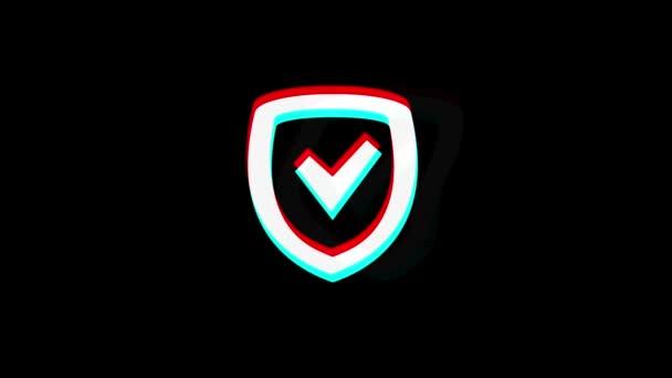 Ikona zabezpečovacího štítu ročník.