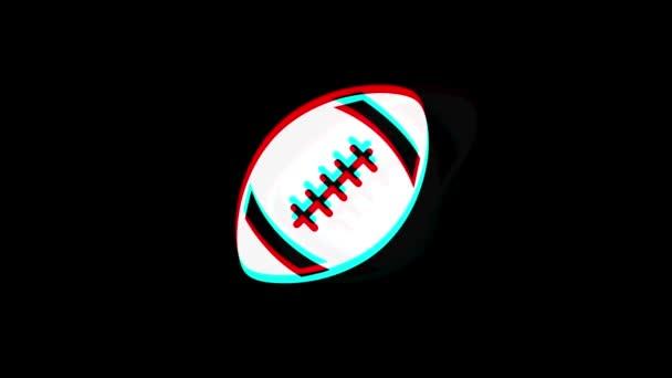 Ikona amerického fotbalu ročník Twittovaná špatná animace signálu.