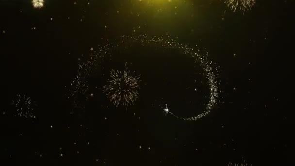 Kiárusítás szöveg tűzijáték kijelző robbanás részecskék.