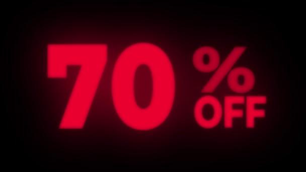 70 Prozent Rabatt auf flackernde Displays.