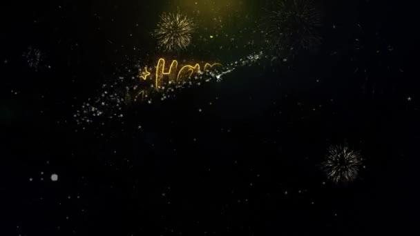 Boldog j évet 2025 szöveg kívánság-ra arany részecske tűzijátékok bemutatás.