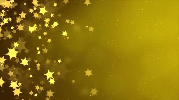 Abstraktní stříbrný zlatý třpyt Vánoce bokeh smyčka rozostření pozadí.