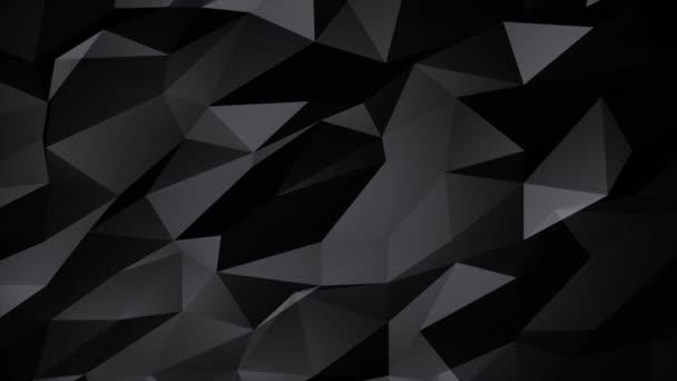 Abstraktní polygonální černá zlatá Zlatá Mesh obrys Smyčka pozadí.