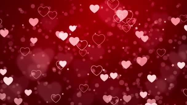 A hurok háttere szív és csillag hurok Háttér Animáció.