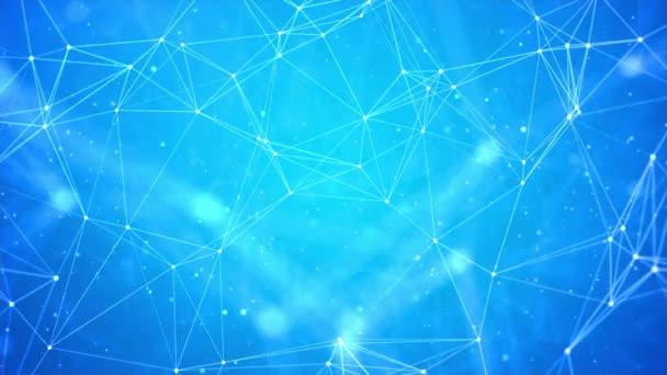 Internet-Verbindung abstrakter Sinn für Wissenschaft und Technologie Schleifenhintergrund.