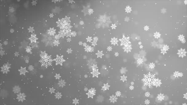 Módní sněžení dekorace design smyčka bílé pozadí