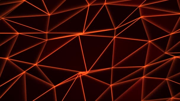 3d Red abstract Geometric Loop Background new technology dynamic motion Concept.