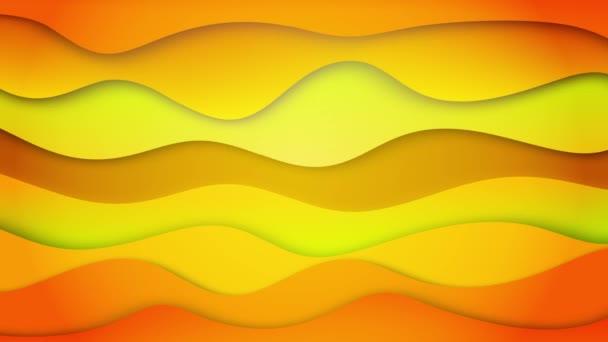 Gradient tekoucí zakřivená vlna tvar geometrický vzor smyčka pozadí