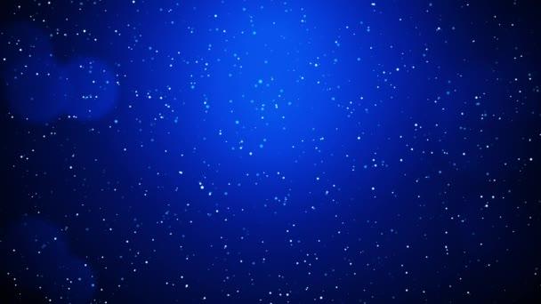 4k Looped animáció Dard Blue Wave minta. Pontos vonalak. Neon hullámok részecskék háttér.
