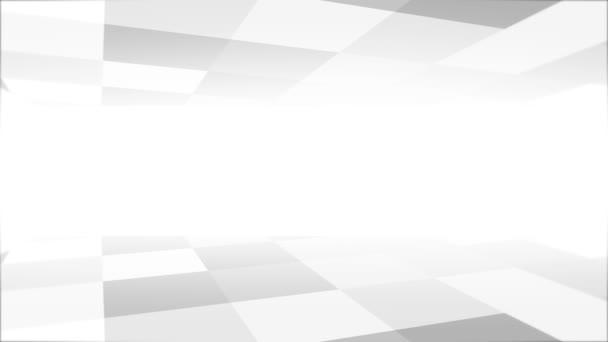 Abstraktní bílá gradační čára 4K 3D smyčka Animace Nový pohyb Pozadí.