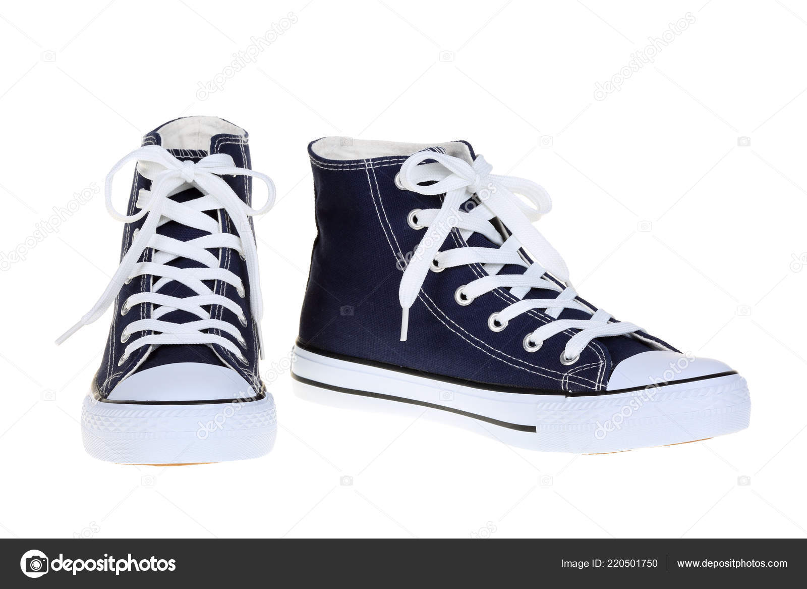 94cfc2190cc Ζευγάρι Γυναικών Υψηλή Κορυφή Sneakers Σκούρο Μπλε Navy ...
