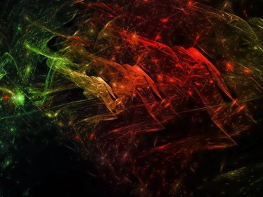 abstract fractal background effect