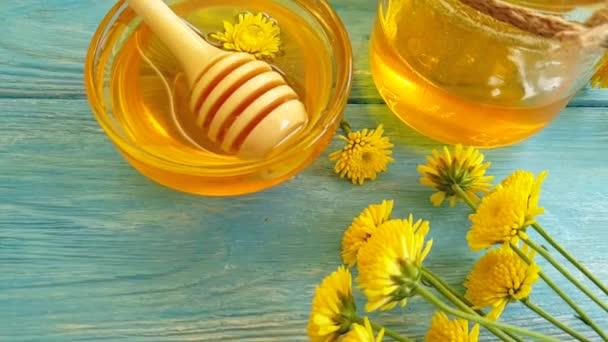 čerstvý med pomalý pohyb
