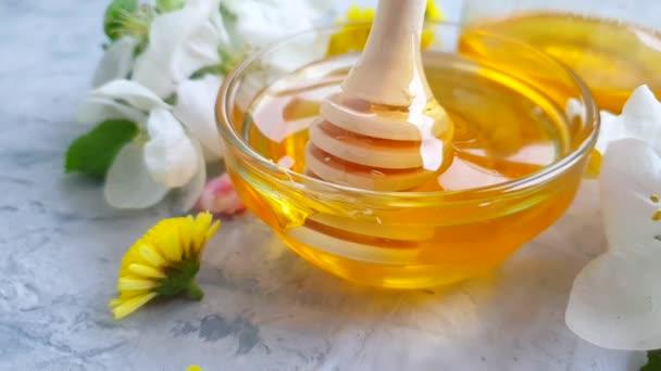čerstvý medový třešeň květ pomalý pohyb
