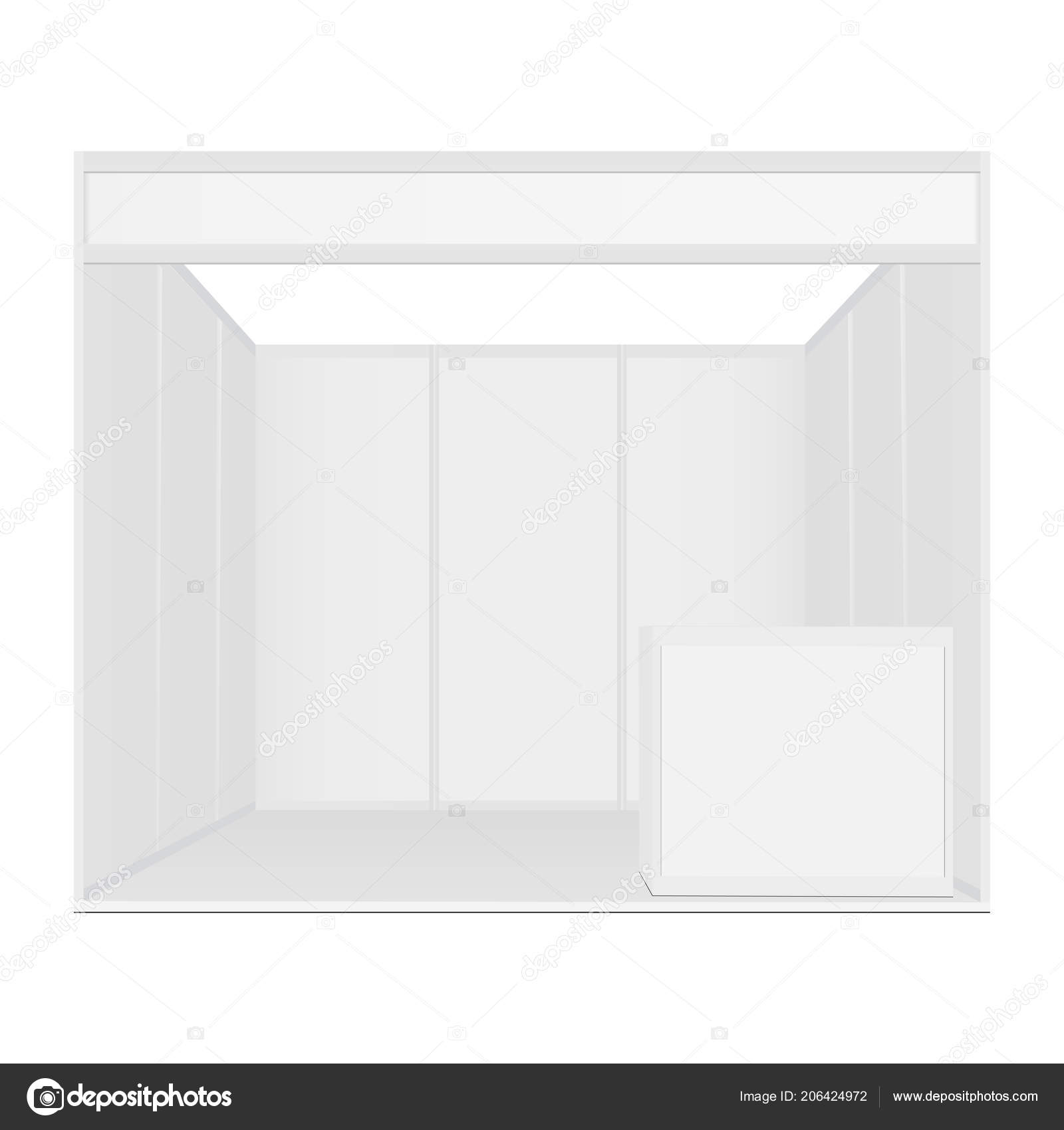 Exhibition Booth Mockup : Exhibition booth mockup u stock vector evgeniyzimin