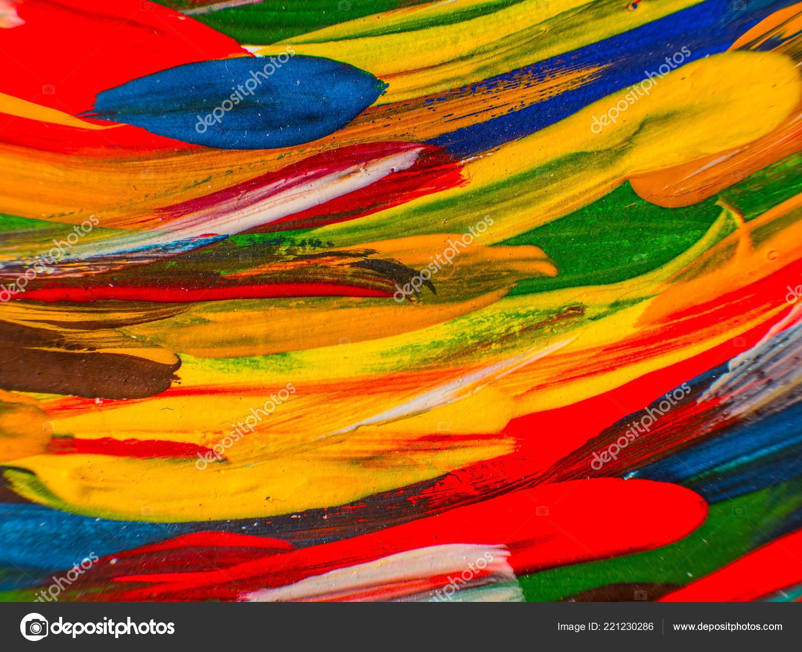 handgemalte gemlde abstrakte kunst hintergrund malerei auf leinwand farbtextur fragment stockfoto