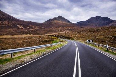 A87 at Blackhill, Isle of Skye