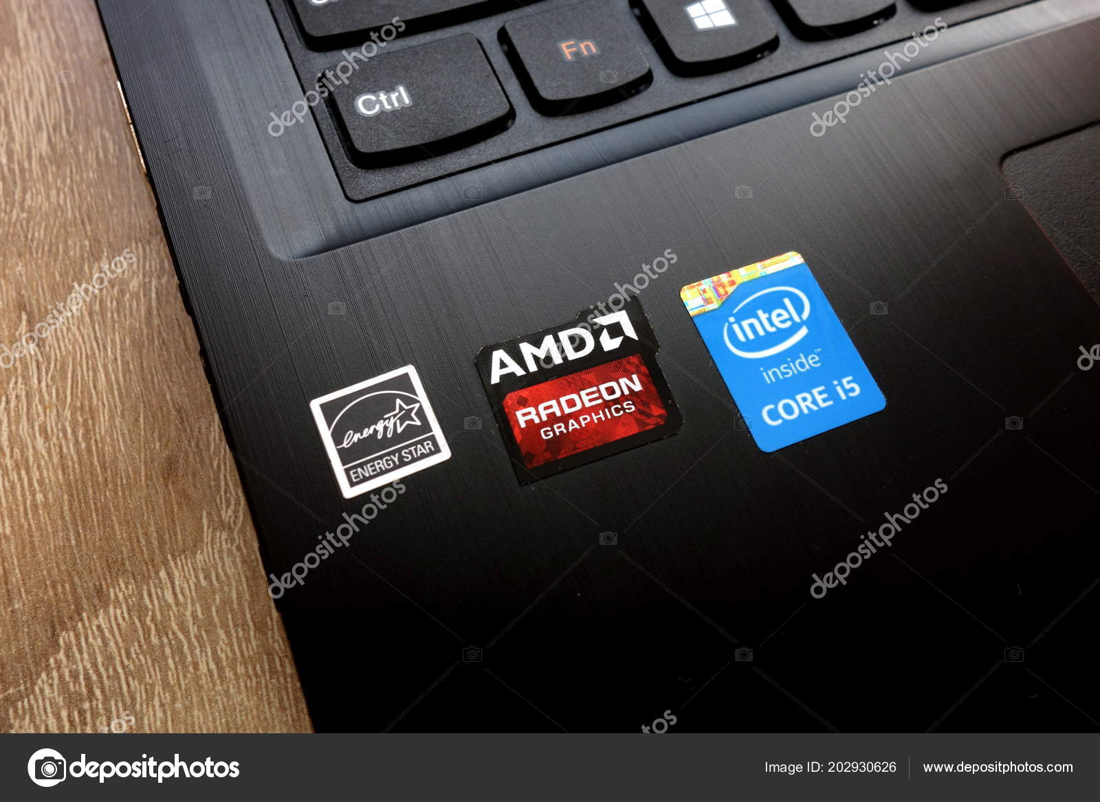 Konskie Poland May 2018 Personal Computer Stickers Energy Star Amd