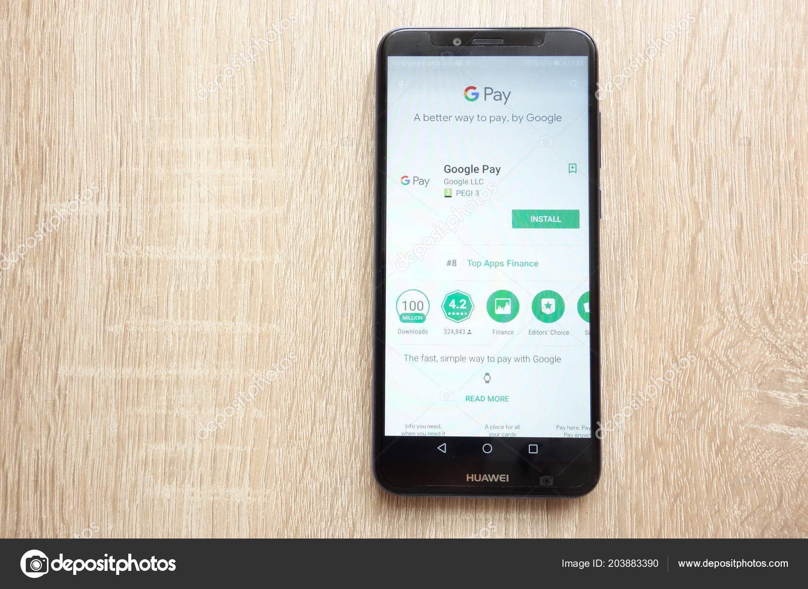 Konskie Poland June 2018 Google Pay App Google Play Store – Stock