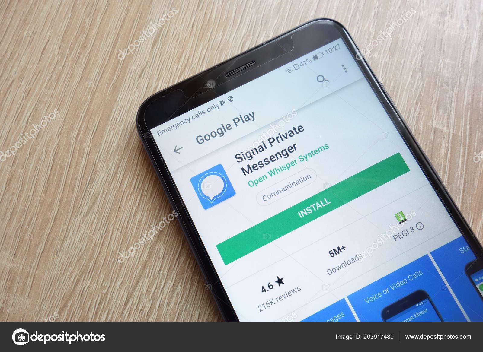 signal app google play store