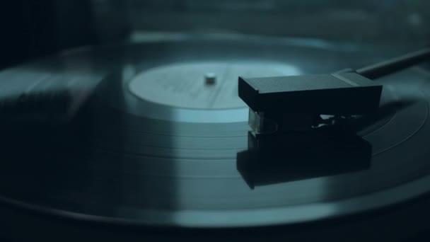 Régi vintage vinyl, zenélés.