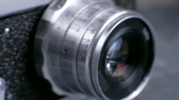 Vintage Foto-Kamera-Objektiv Details