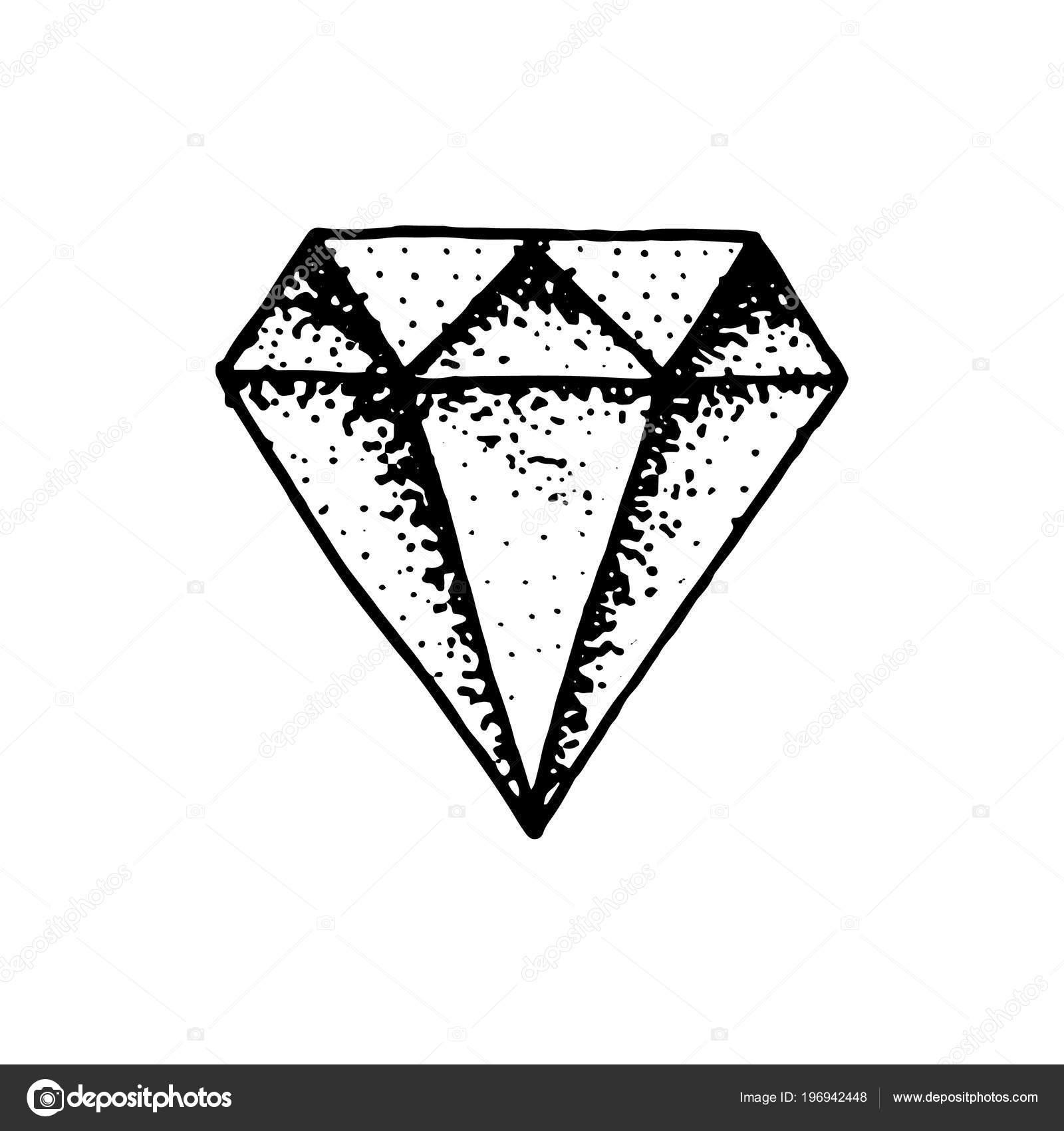 Imágenes De Diamantes Para Dibujar Tatuaje De Diamante De Moda