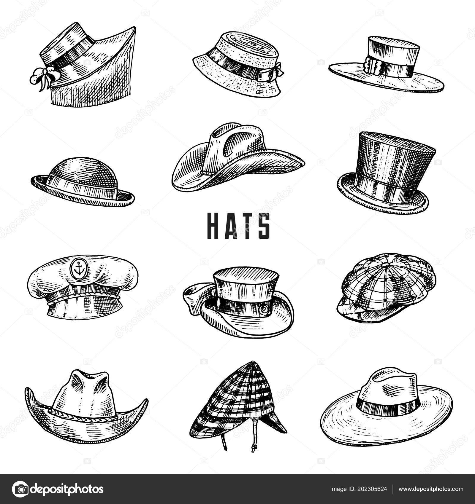 Verano vintage colección de sombreros para hombres elegantes bc6a3126188