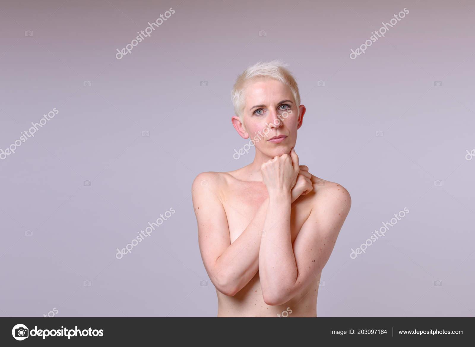Beautiful naked mature