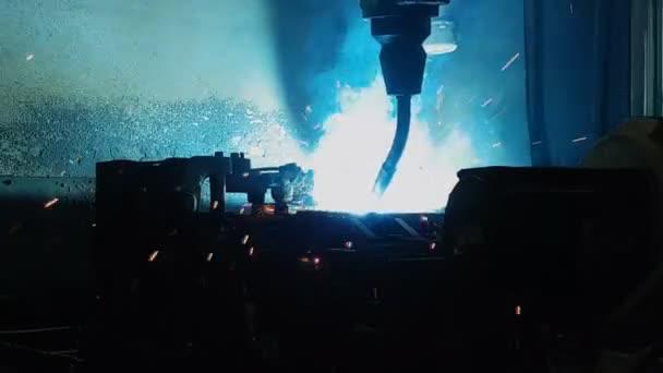 csúcstechnológiai ipari mig Hegesztő robot, a gyártási folyamat