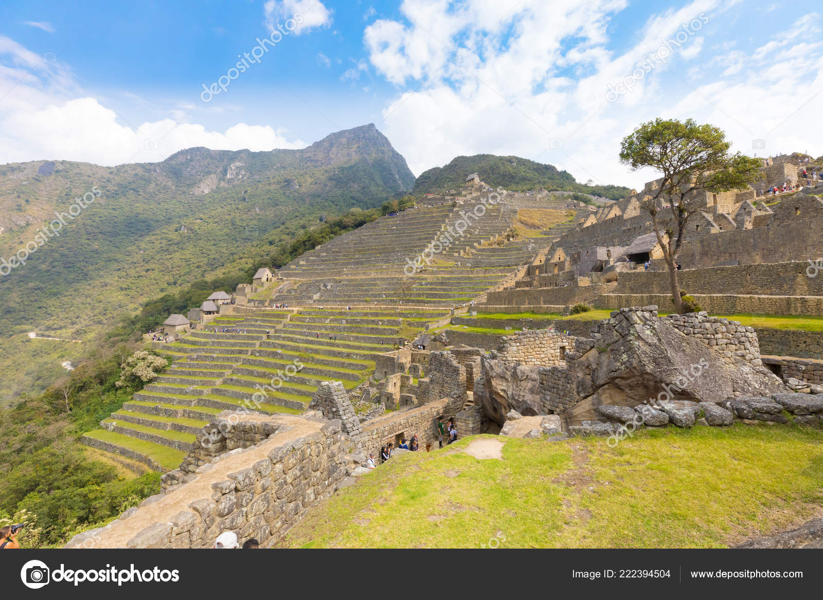 Perú Machu Picchu Septiembre 2018 Gracias Estos Andenes