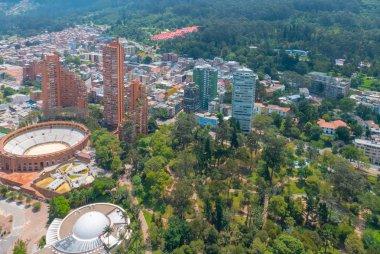 Bogota indipendence park, bulls square arena and planetarium bui