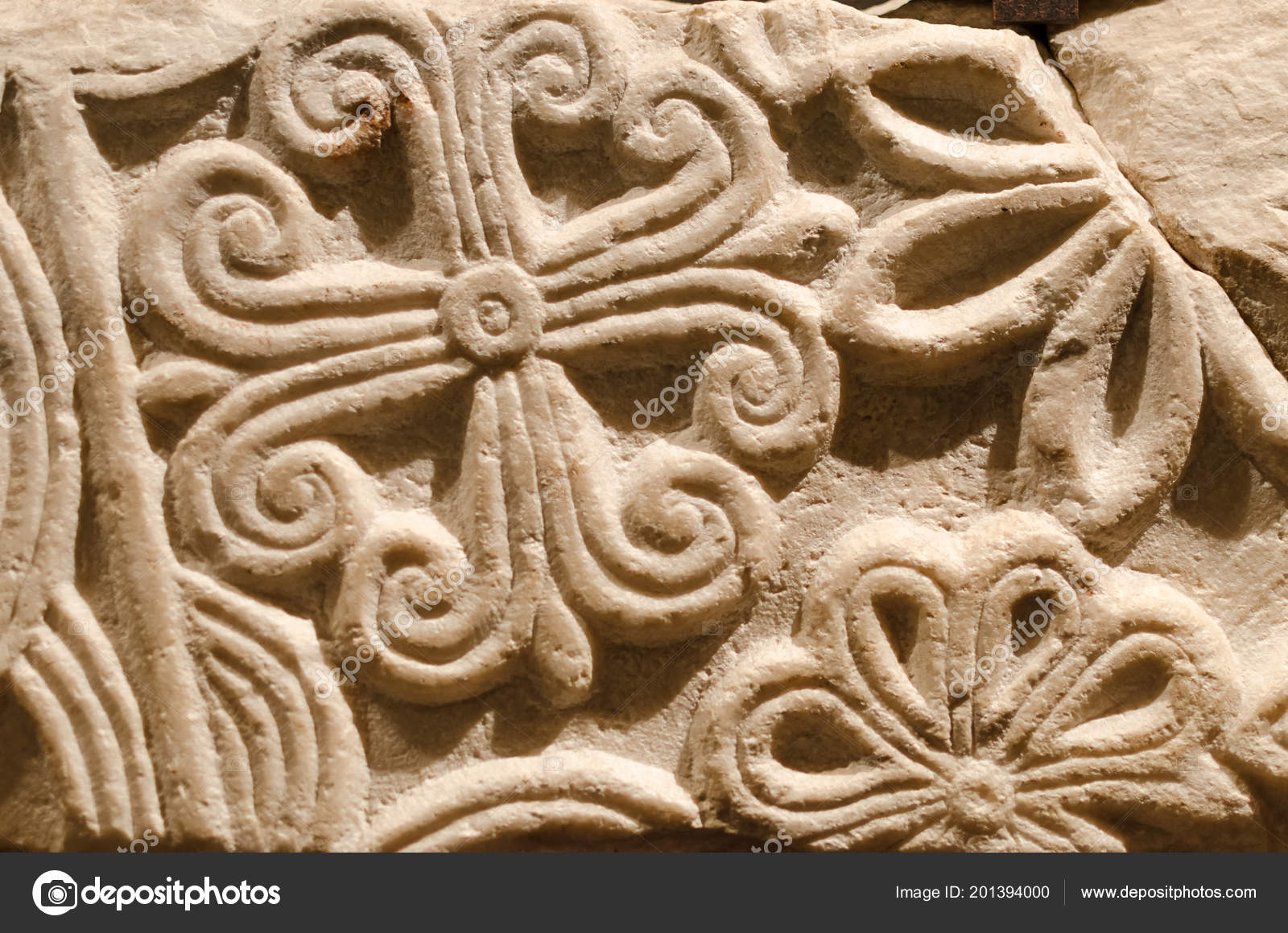 Medieval carved decoration u stock photo cristianoaless