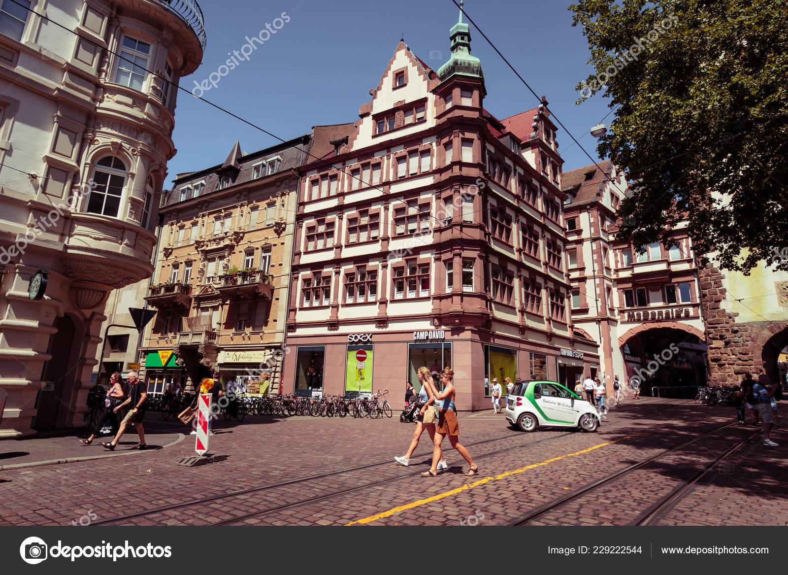 Freiburg Breisgau Baden Wurttemberg Germany July 2018