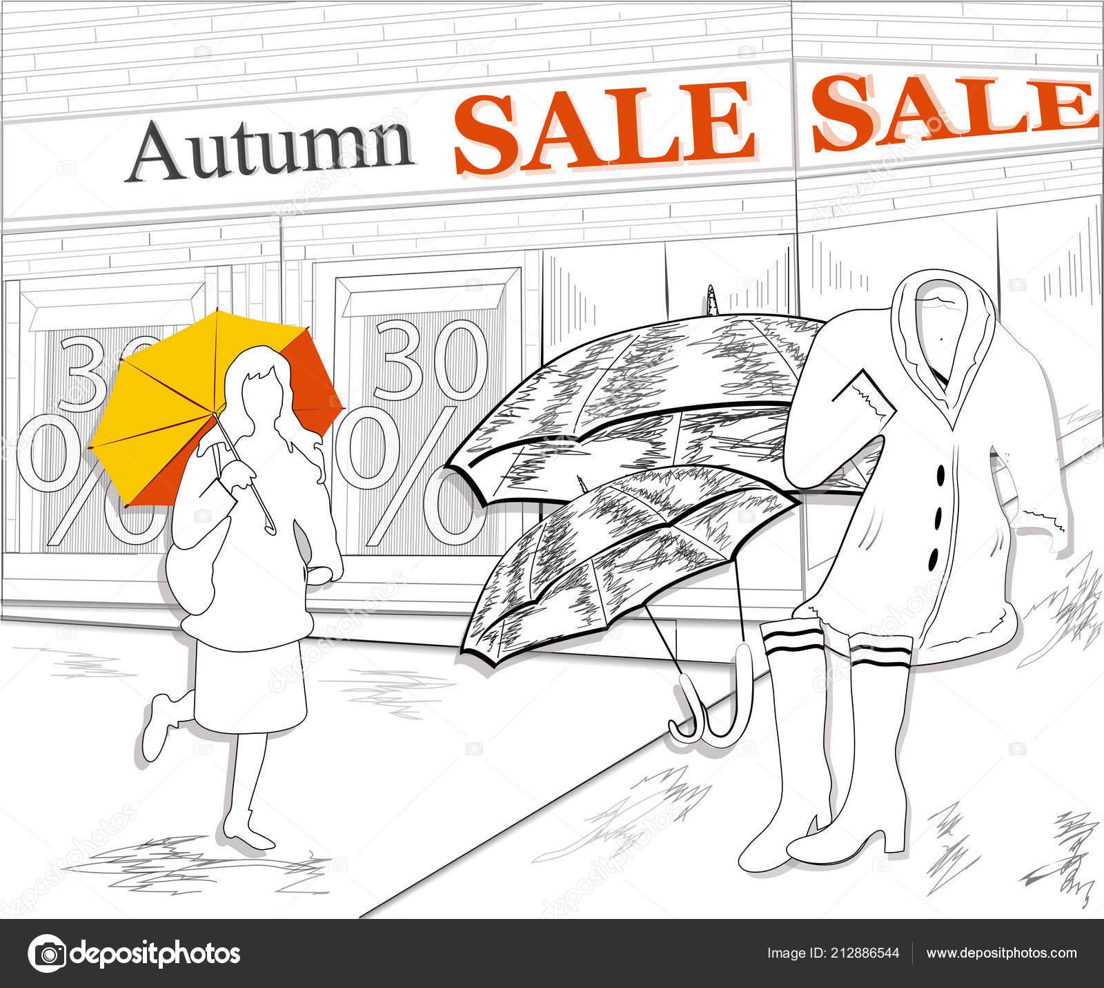 53ab06cd711d Creative Banner Plakát Pro Podzimní Prodej Plakát Reklama Prodej ...