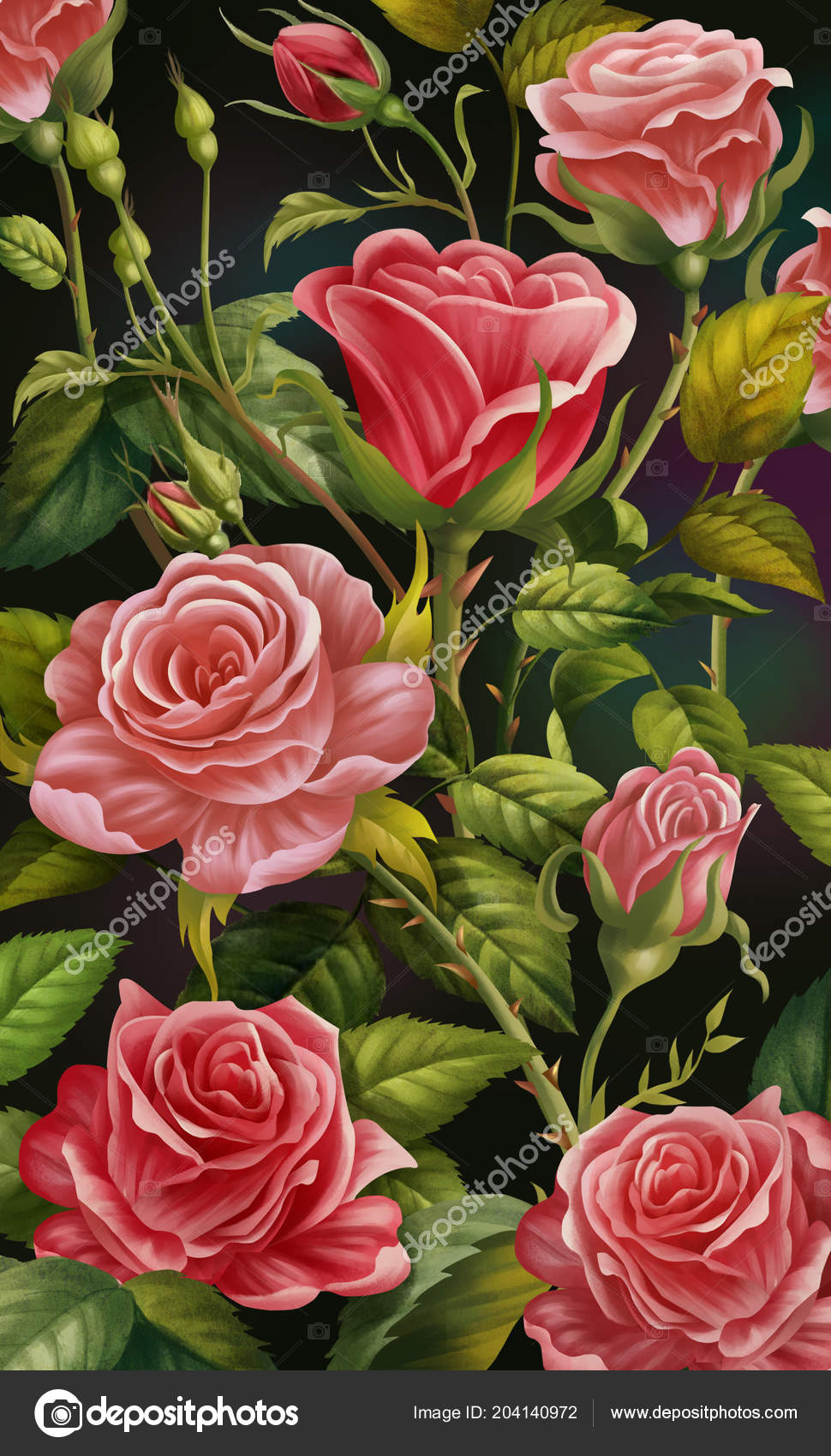 Wallpapers Roses Wallpaper For Phone Floral Background Colorful
