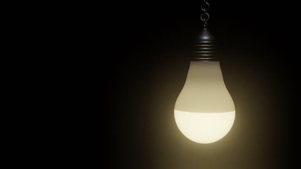 3D kontrolka ve tmě